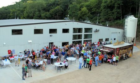 Celebrating the new Potosi Brewery Production Facility