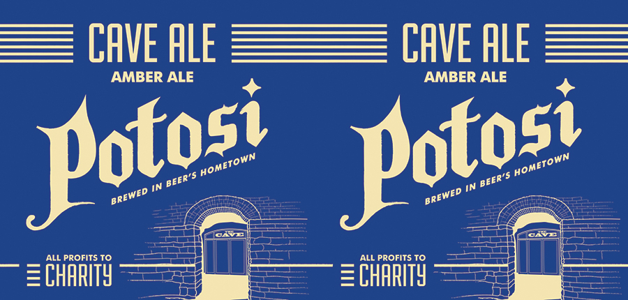 Cave Ale Tap Handle