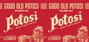 Good Old Potosi Tap Handle
