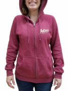 Potosi Full-Zip Hooded Sweatshirt - Crimson