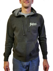Potosi Zip-Up Hooded Sweatshirt