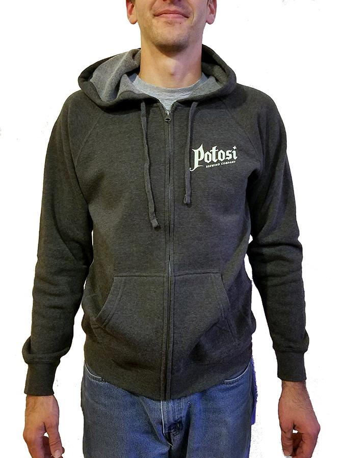 Potosi Zip-Up Hooded Sweatshirt