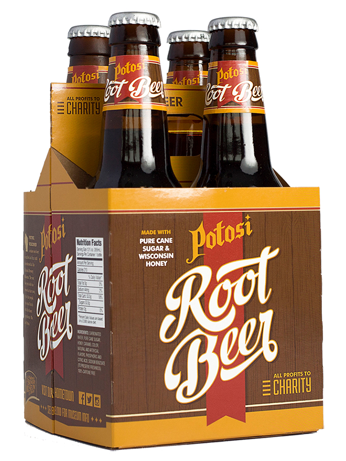 Potosi Root Beer 4-Pack