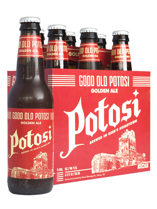 Good Old Potosi Pack w/Bottle