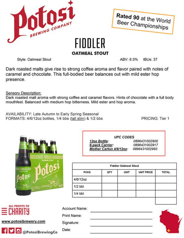 Fiddler Sell Sheet