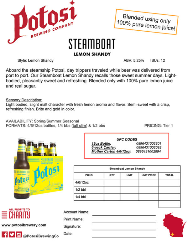 Steamboat Sell Sheet