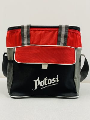 Potosi Craft Beer Cooler - Red Black Gray