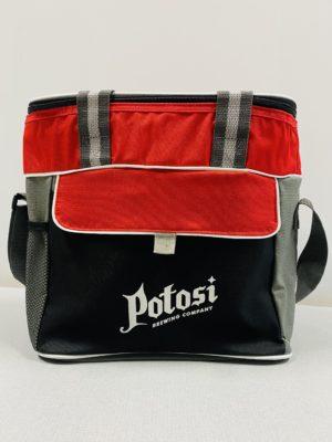 Potosi Craft Beer Cooler - Red Black Gray