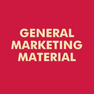 General Marketing Material